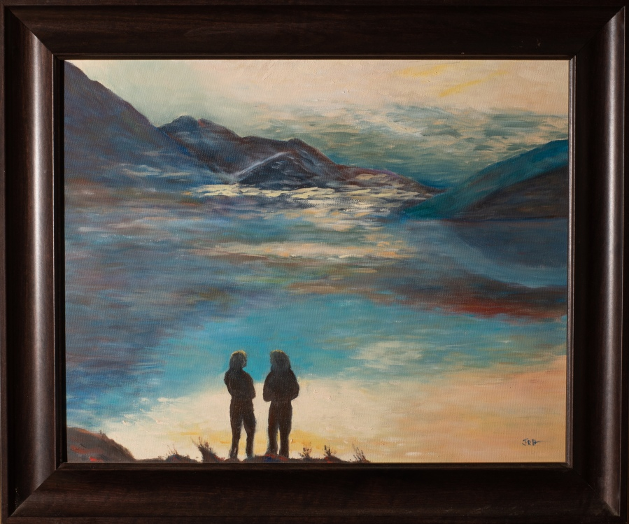 JRH_Painting-Shadows - No paint on frame
